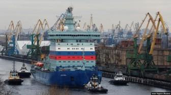 Thử nghiệm tàu phá băng chạy bằng năng lượng hạt nhân