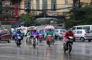 Không khí lạnh gây mưa ở Bắc Bộ và thủ đô Hà Nội từ đêm 18-12