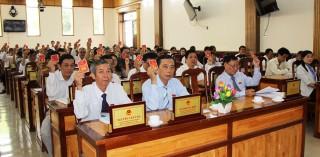 Ông Trần Ngọc Bầu được bầu giữ chức Phó Chủ tịch HĐND huyện Chợ Mới khóa XI (nhiệm kỳ 2016-2021)