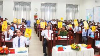 Châu Đốc tiến hành kỳ họp thứ 12 HĐND thành phố