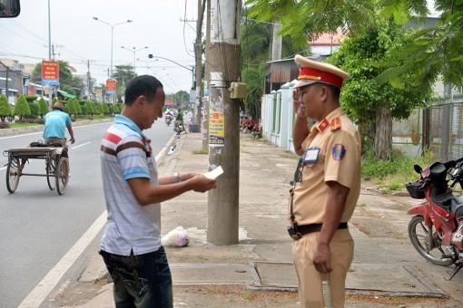 Xử phạt 1.178 trường hợp vi phạm trật tự an toàn giao thông