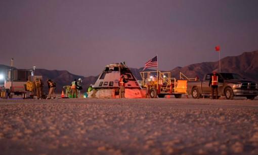Nhiệm vụ thất bại, tàu vũ trụ của Boeing đáp xuống sa mạc