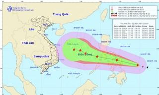 Thời tiết ngày 24-12: Bão gần biển Đông, Bắc Bộ và Trung Bộ tiếp tục mưa rét
