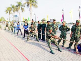 Nhiều sân chơi thể thao hấp dẫn cho lực lượng vũ trang