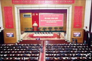 Hội nghị toàn quốc tổng kết công tác tổ chức xây dựng Đảng năm 2019, triển khai nhiệm vụ năm 2020