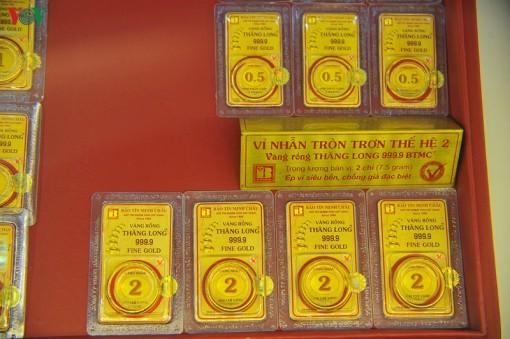 Giá vàng SJC tăng thêm 130.000 đồng/lượng
