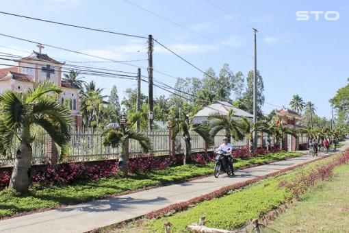 Đồng bào Công giáo xã Hưng Phú chung tay xây dựng nông thôn mới