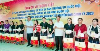 Thăm, tặng quà công nhân lao động nhân dịp Tết Nguyên đán Canh Tý 2020