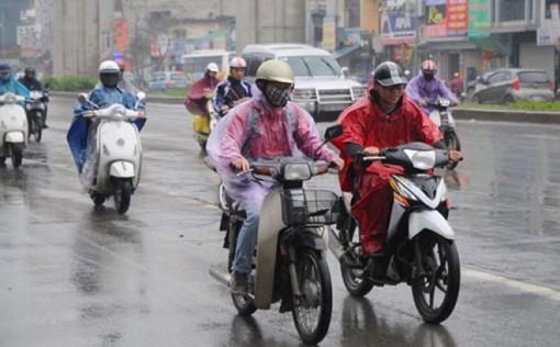 Thời tiết ngày 29-12: Không khí lạnh gây mưa và dông ở Bắc Bộ và Trung Bộ
