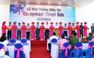 Khai trương siêu thị Co.opmart Thoại Sơn