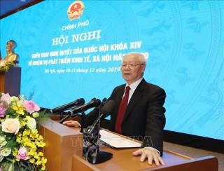 Tổng Bí thư, Chủ tịch nước chỉ đạo 5 nhiệm vụ trọng tâm trong năm 2020