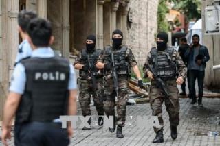 Thổ Nhĩ Kỳ bắt giữ 70 đối tượng nghi thành viên IS