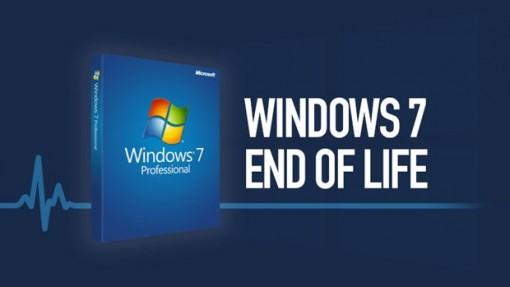 """Microsoft sẽ chính thức """"khai tử"""" Windows 7 từ ngày 14-1-2020"""