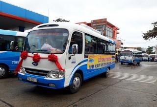 Khai trương tuyến xe buýt nối Đà Nẵng với Huế