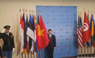Việt Nam bắt đầu các hoạt động chính thức trên cương vị Chủ tịch Hội đồng Bảo an LHQ