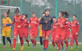 ĐT nữ Việt Nam phải thi đấu giữa trưa tại vòng loại Olympic 2020