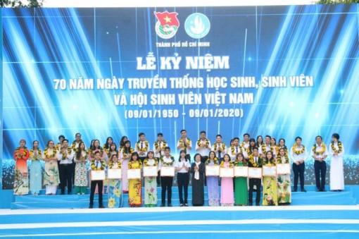 TP.HCM: Kỷ niệm 70 năm ngày truyền thống học sinh, sinh viên