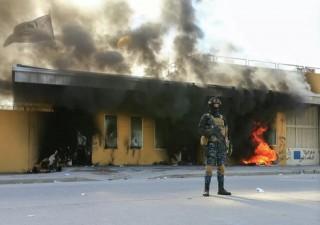 Pháo kích tiếp tục rơi gần Đại sứ quán Mỹ ở Baghdad