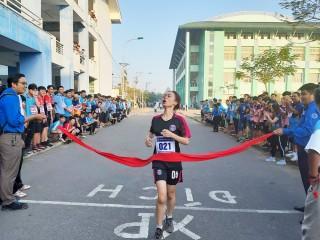 Sôi nổi Giải việt dã chạy vì sức khỏe cộng đồng