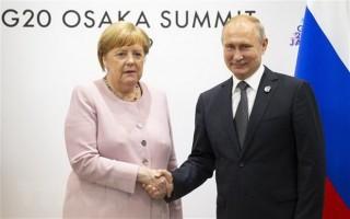 Thủ tướng Đức Angela Merkel sẽ có chuyến thăm làm việc tới Nga