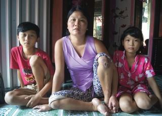 Bệnh tật bủa vây người mẹ nghèo