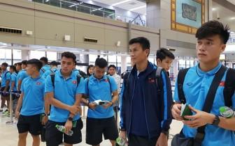 U23 Việt Nam hành quân tới Buriram sẵn sàng cho VCK châu Á 2020