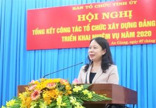 Công tác tổ chức xây dựng Đảng đóng góp quan trọng vào thành tựu chung của tỉnh