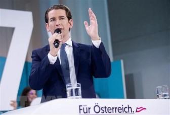 Tân Thủ tướng Áo 33 tuổi Sebastian Kurz tuyên thệ nhậm chức