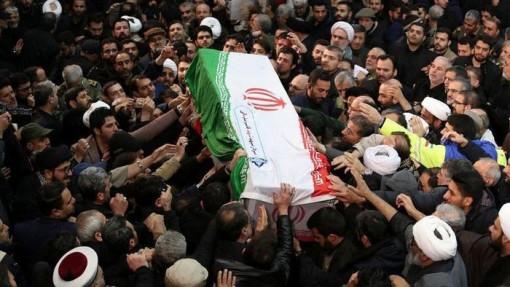 Giẫm đạp ở đám tang Tướng Soleimani khiến 40 người thiệt mạng