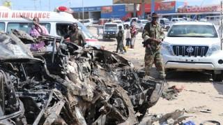 Bom xe phát nổ gần Quốc hội Somalia ở thủ đô Mogadishu