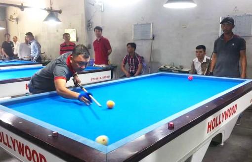 An Giang: Phát triển bộ môn billiards phong trào