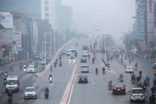 Bắc Bộ sáng có sương mù, chất lượng không khí Hà Nội tốt dần lên