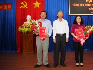 Bổ nhiệm Phó Chủ tịch UBND huyện Chợ Mới Huỳnh Thị Nguyệt Hồng giữ chức Trưởng ban Tổ chức Huyện ủy