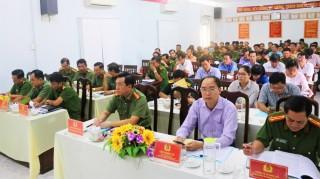 Công an TP. Châu Đốc quyết tâm giữ vững an ninh chính trị, trật tự an toàn xã hội