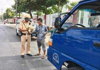Phòng Cảnh sát Giao thông đường bộ - Công an An Giang triển khai thực hiện Nghị định 100/2019/NĐ- CP