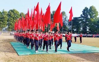 Khai mạc Hội khỏe Phù Đổng huyện Châu Phú lần thứ 29, năm học 2019-2020