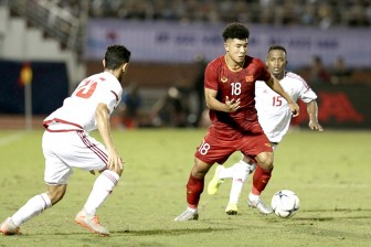 U.23 Việt Nam sẵn sàng cho trận đấu tổng lực