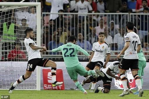 Đè bẹp Valencia, Real hẹn Barca ở chung kết Siêu cúp TBN