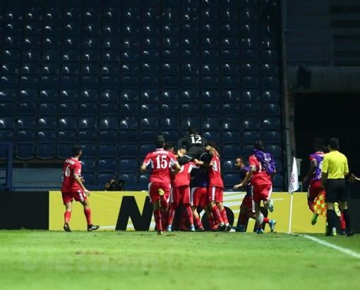 U.23 Jordan chiếm ngôi đầu bảng D sau trận thắng U.23 Triều Tiên