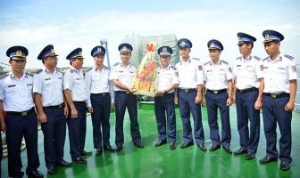 Cảnh sát biển lên đường canh giữ vùng biển đảo ngày Tết