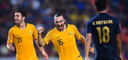 U23 Thái Lan bị U23 Úc phá tan giấc mộng lịch sử