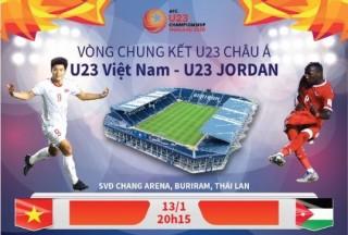 Dự kiến đội hình xuất phát trận U23 Việt Nam - U23 Jordan