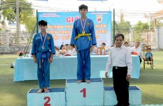 Châu Thành tạo điều kiện để các võ sĩ Vovinam thi đấu cọ xát