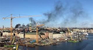 Nổ lớn làm rung chuyển khu chung cư ở thủ đô Stockholm
