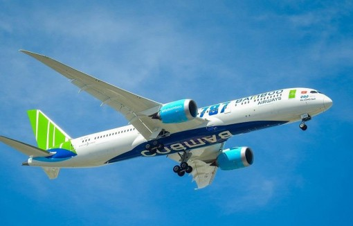 Bamboo Airways sắp nhận thêm hai chiếc Boeing 787-9 Dreamliner