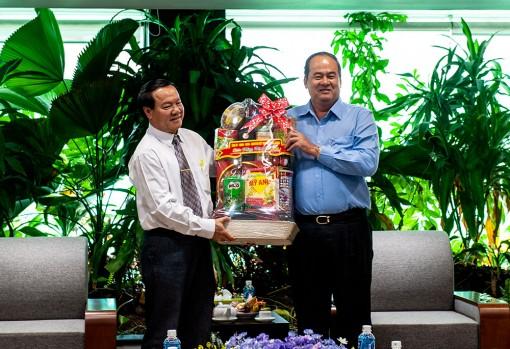 Chủ tịch UBND tỉnh An Giang Nguyễn Thanh Bình chúc Tết các doanh nghiệp tiêu biểu