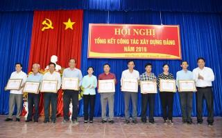 Châu Thành: Đổi mới, kiện toàn, nâng cao chất lượng công tác tổ chức xây dựng Đảng