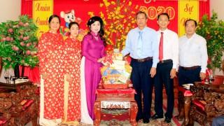 Phó Chủ tịch UBND tỉnh An Giang Lê Văn Nưng thăm và chúc Tết doanh nghiệp trên địa bàn TP. Long Xuyên