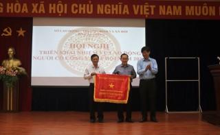 Sở Lao động – Thương binh và Xã hội An Giang nhận Cờ thi đua của Bộ Lao động – Thương binh và Xã hội