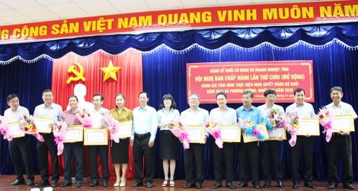 Đảng bộ Khối Cơ quan và Doanh nghiệp tỉnh An Giang hoạt động ổn định, hiệu quả sau một năm hợp nhất